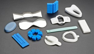 Medical, dental and surgical foam components