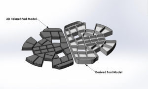 Engineer Develop 1 - Tool design is derived form part geometry