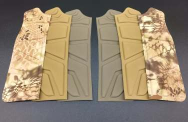compression-molded-body-armor-pad-system