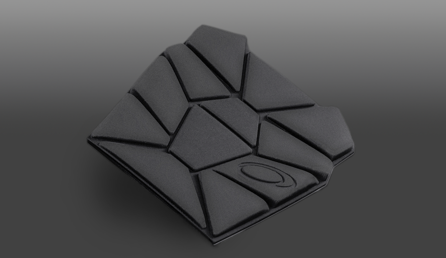 Laminated, compression molded foam wheelchair seat back